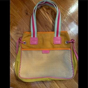 Hogan colorful and bright bag perfect for summer.